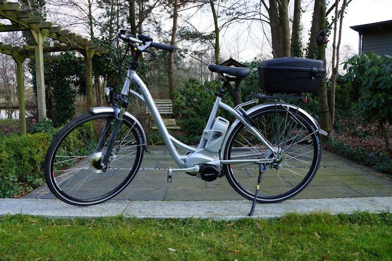 Das Elektrofahrrad Flyer von BikeTec zur Probefahrt