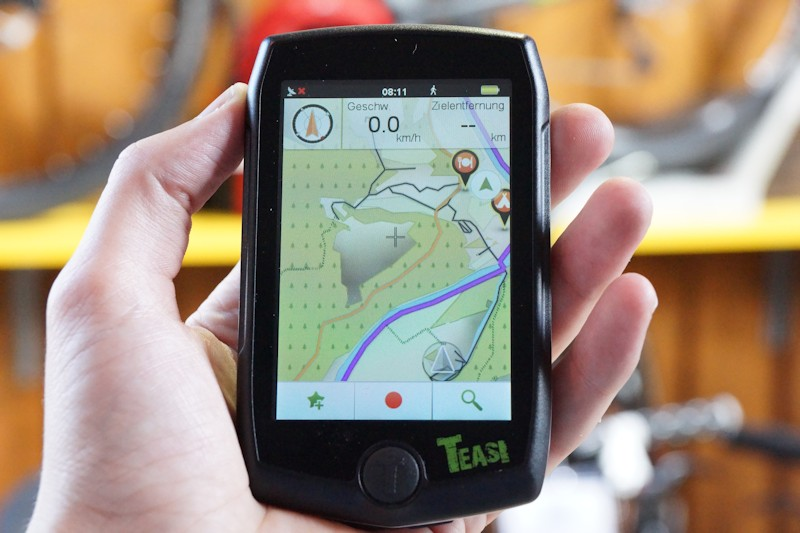 Fahrradnavigation Test - Teasi Plus