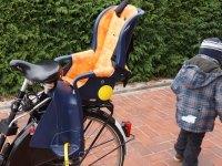 Kinderfahrradsitz Test - Kind und Fahrrad