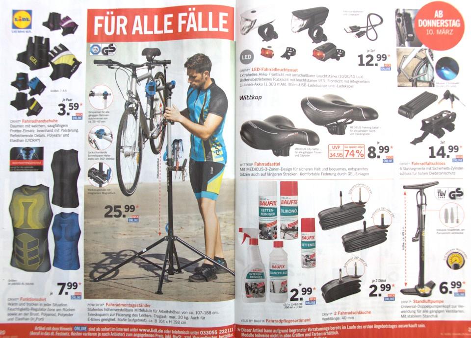 Lidl Fahrrad Prospekt 2016 Seite 2
