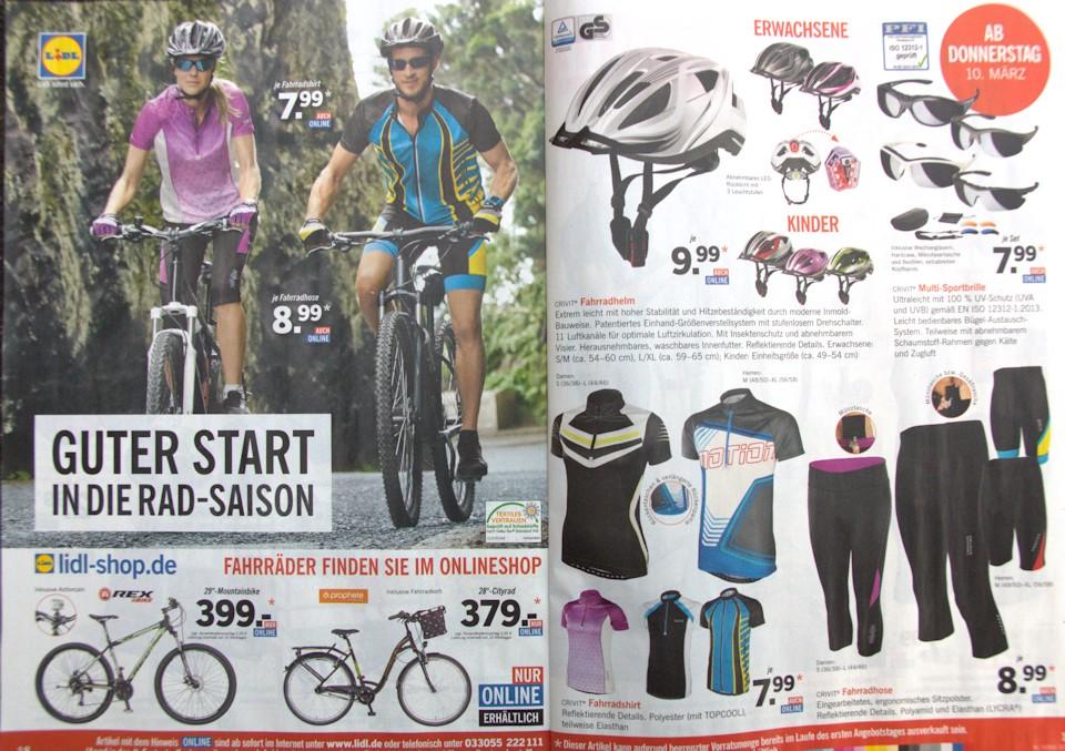 Lidl Fahrrad Prospekt 2016 Seite 1