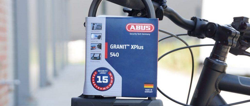 Abus Granit X-Plus 540 Test
