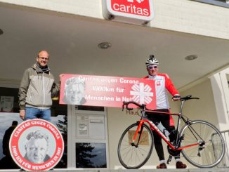 Ludger Abeln vor Charity Radtour gegen Corona